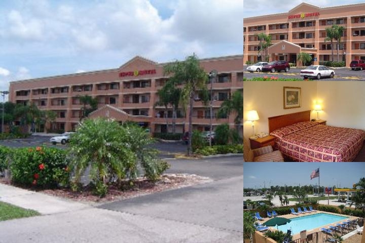 Super 8 Fort Myers photo collage