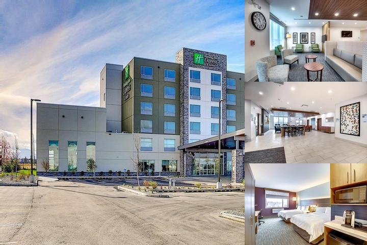 Holiday Inn Express & Suites Airport Calgary photo collage
