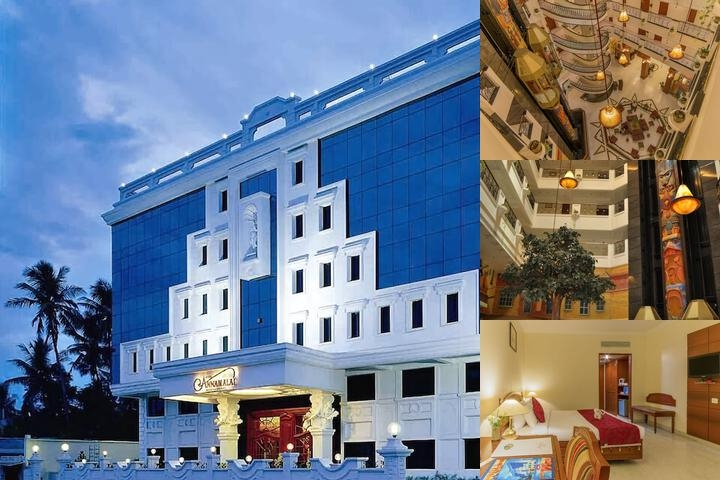 Hotel Annamalai International photo collage
