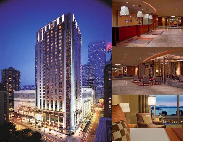 Grand Hyatt Seattle photo collage