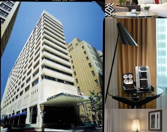 Sofitel Philadelphia photo collage