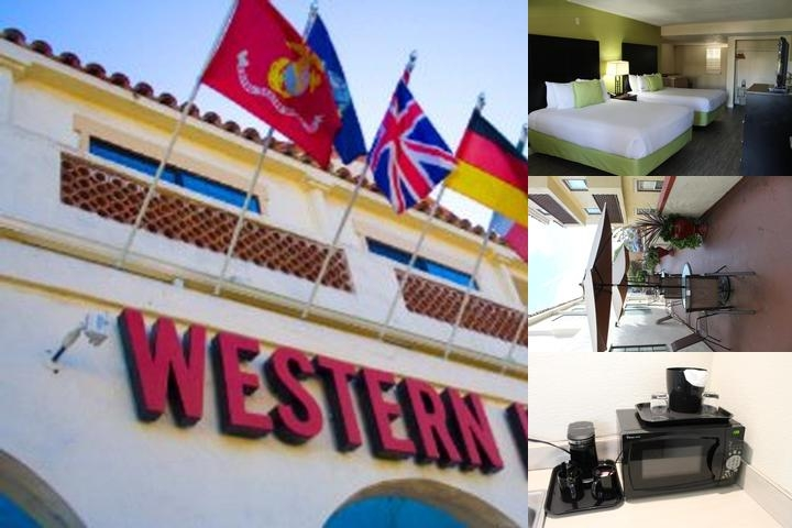 Western Inn photo collage