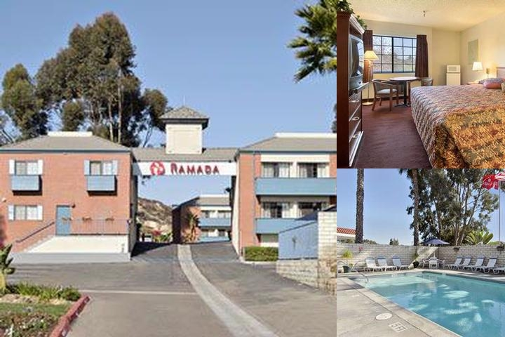 Ramada Poway photo collage