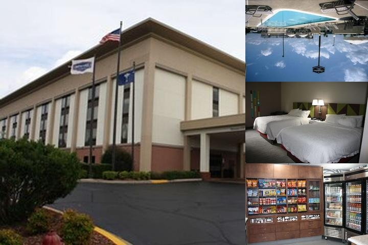 Hampton Inn Gaffney photo collage