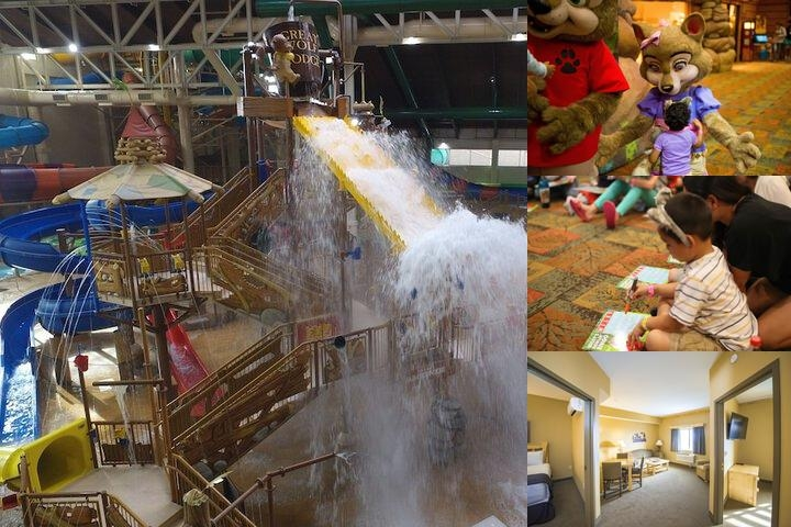 Great Wolf Lodge Southern California photo collage