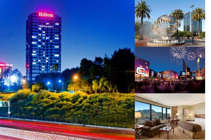 Hilton Los Angeles Universal City photo collage