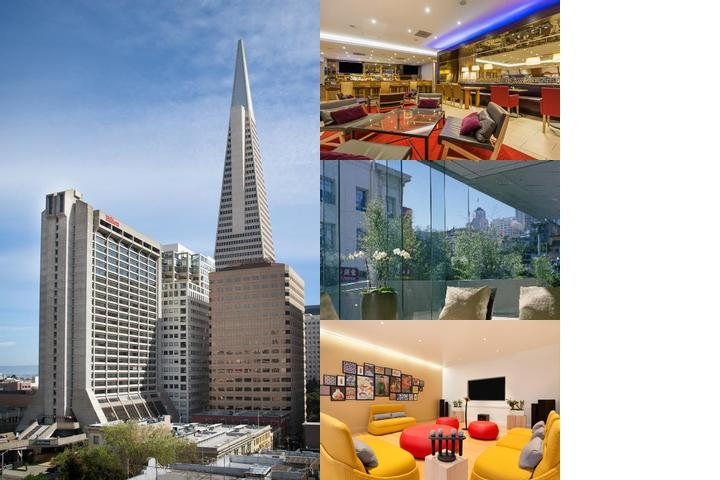 Hilton Financial District photo collage