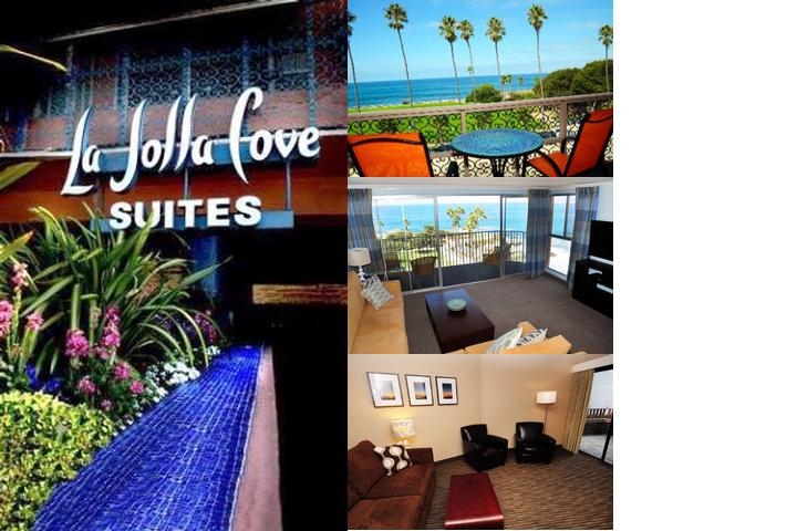 La Jolla Cove Suites photo collage