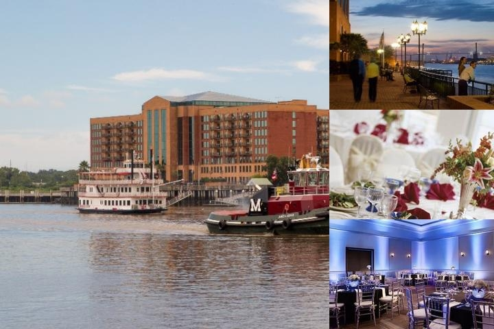 Savannah Marriott Riverfront photo collage