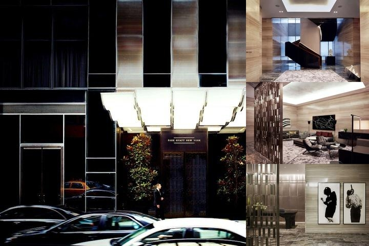 Park Hyatt New York photo collage