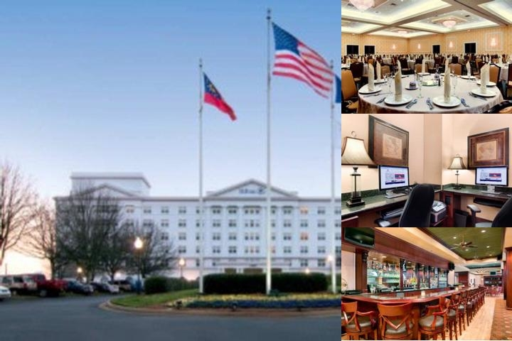 Hilton Marietta Hotel & Conference Center photo collage