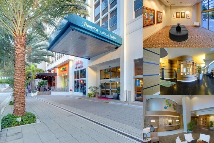 Hampton Inn & Suites by Hilton Miami Brickell Dow photo collage