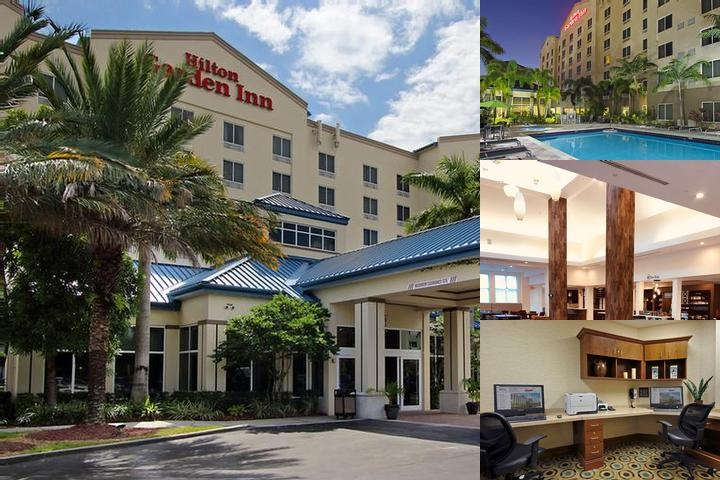 Hilton Garden Inn Miami Airport West photo collage