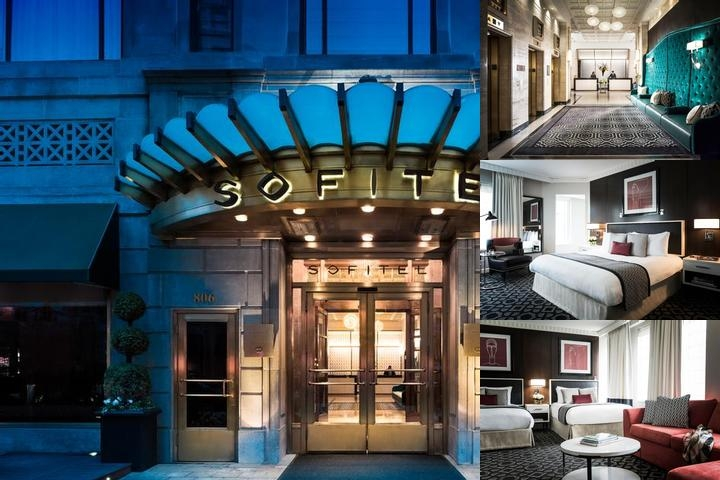 Sofitel Washington DC Lafayette Square photo collage