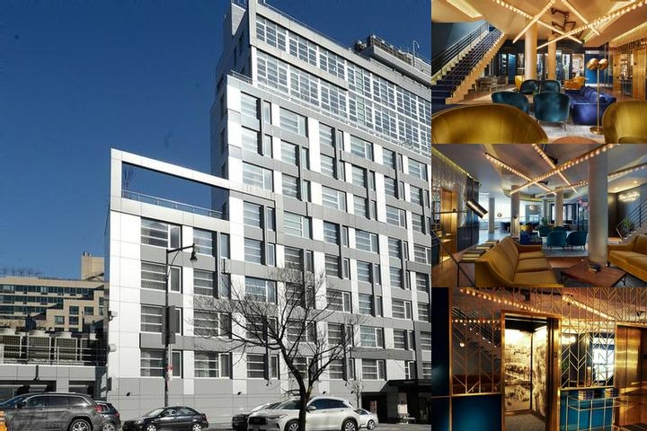 The Dazzler Brooklyn Hotel photo collage