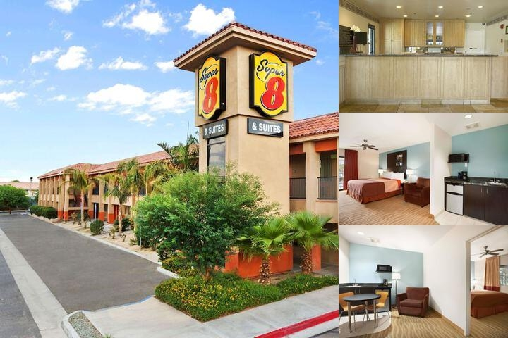 Indio Super 8 & Suites photo collage