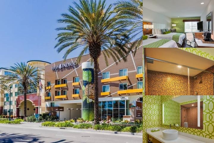 Hotel Indigo Anaheim photo collage