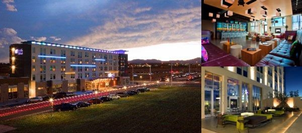 Aloft Broomfield Denver photo collage