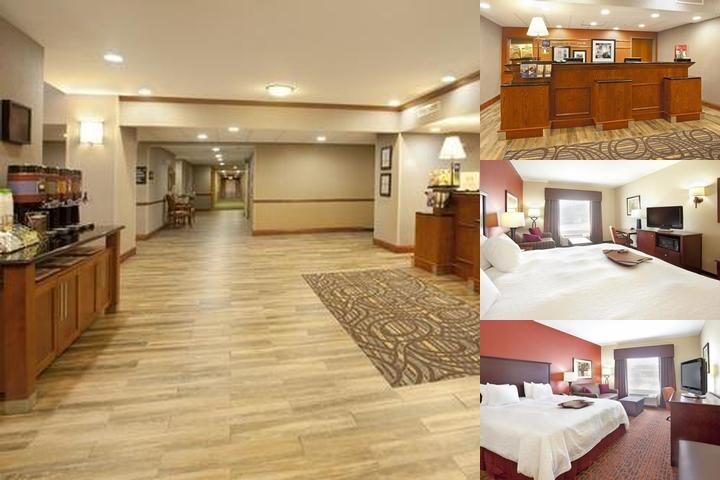 Hampton Inn & Suites West I 30 photo collage