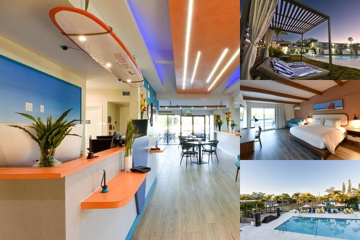 Golden Host Resort photo collage