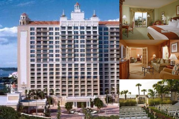 Ritz Carlton Sarasota photo collage