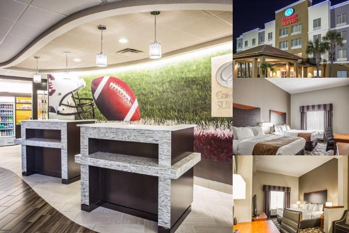 Comfort Suites Harbison photo collage