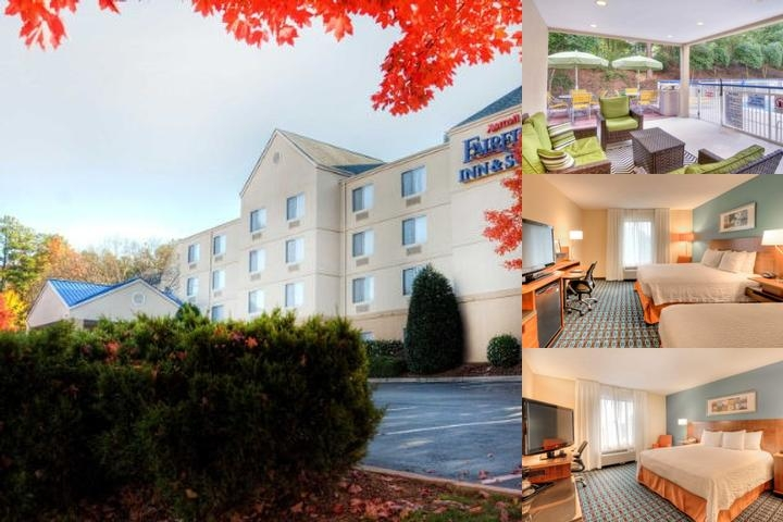 Fairfield Inn & Suites Raleigh Crabtree photo collage