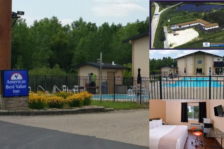 Americas Best Value Inn Madison photo collage
