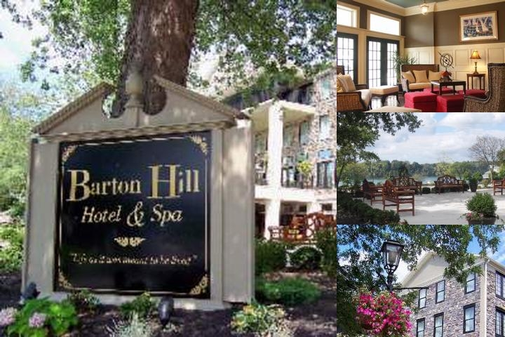 Barton Hill Hotel & Spa photo collage
