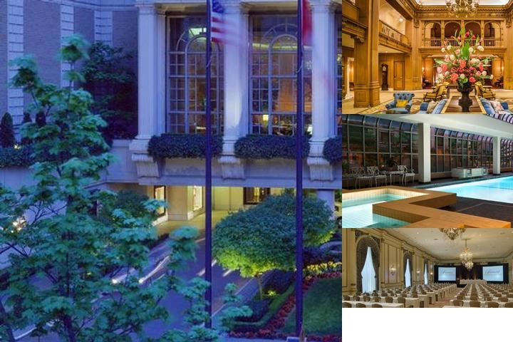 Fairmont Olympic Hotel photo collage