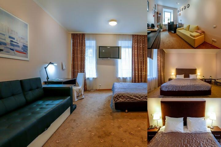 Hotel Skver Tverskaya photo collage