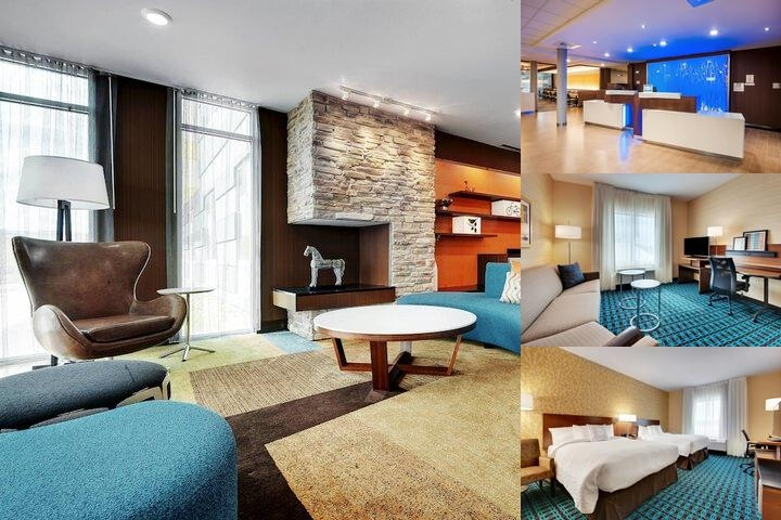 Fairfield Inn & Suites Northwest / Willowbrook photo collage