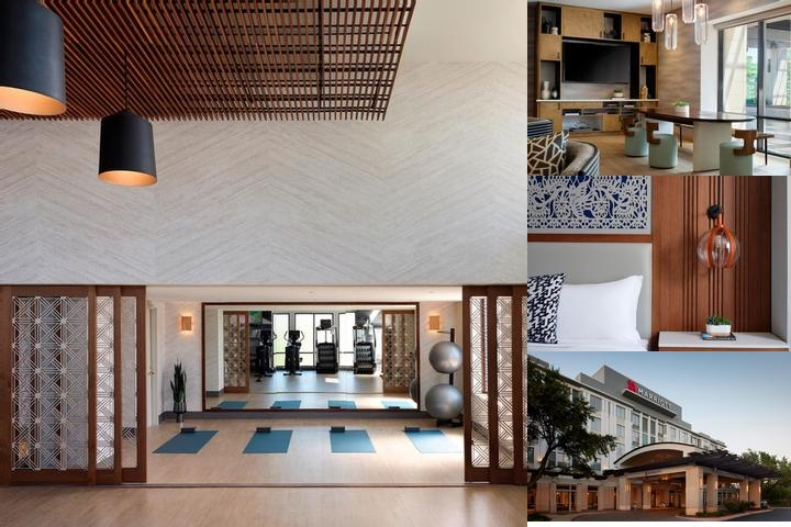 Austin Marriott South photo collage