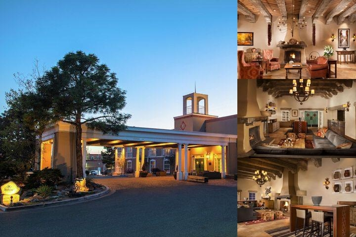 Hilton Santa Fe Historic Plaza photo collage