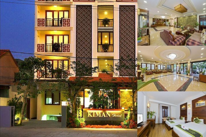 Kiman Hoi An Hotel & Spa photo collage