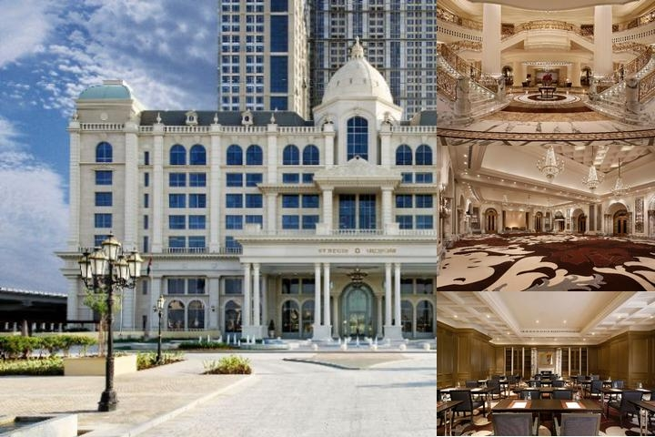 The St. Regis Dubai photo collage