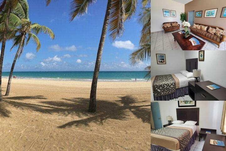 Borinquen Beach Inn photo collage