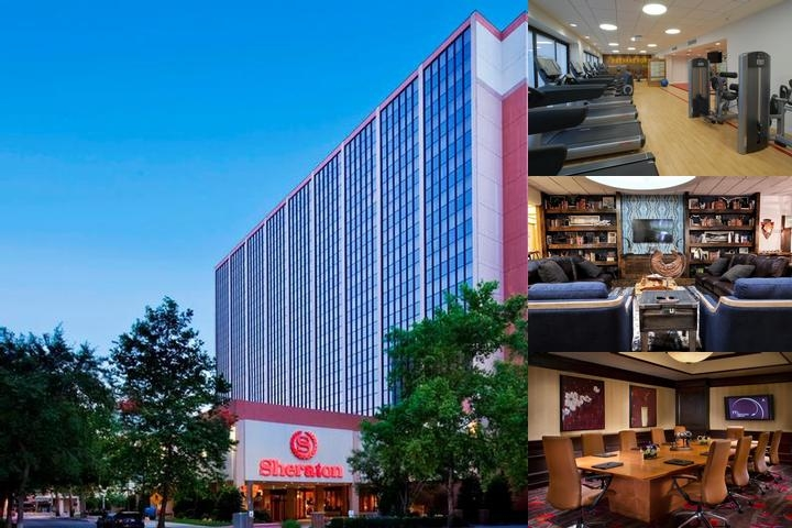 Sheraton Oklahoma City Downtown Hotel photo collage