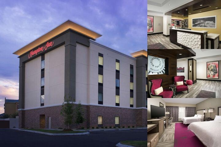 Hampton Inn Hattiesburg Ms photo collage