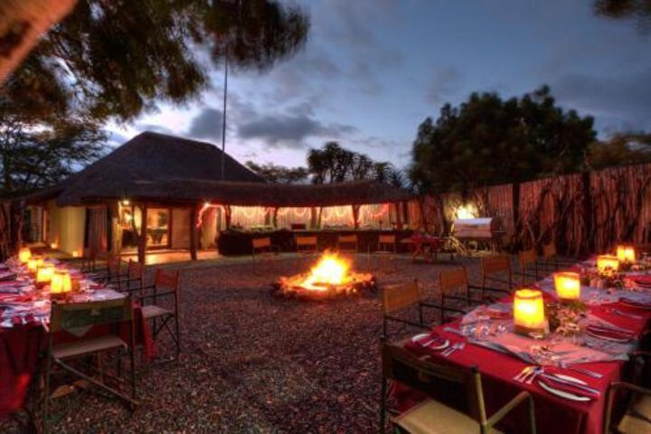Zululand Safari Lodge photo collage