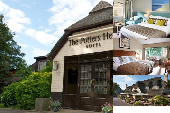 Potters Heron Hotel Pebble Hotels photo collage