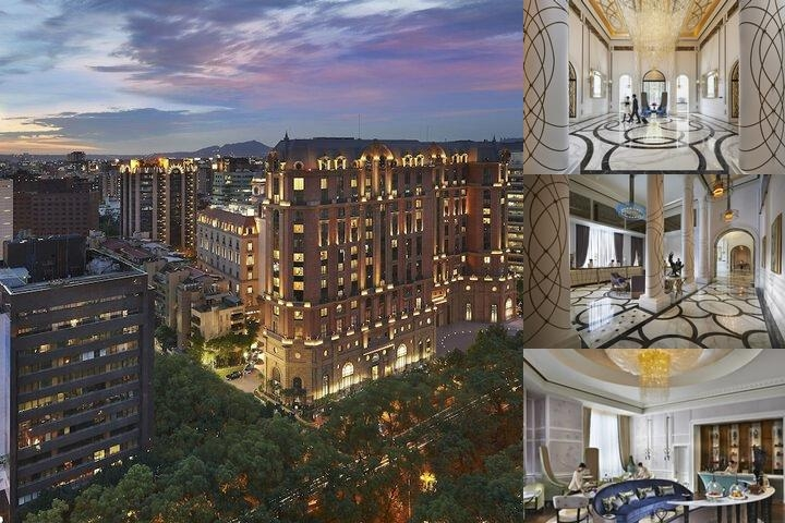 Mandarin Oriental Taipei photo collage