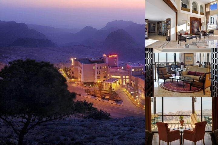 Petra Marriott Hotel photo collage