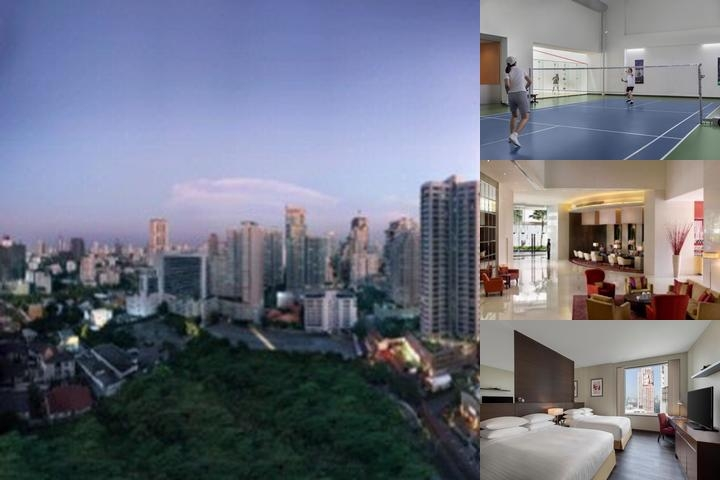 Marriott Executive Apartments Sukhumvit Park Bkk photo collage