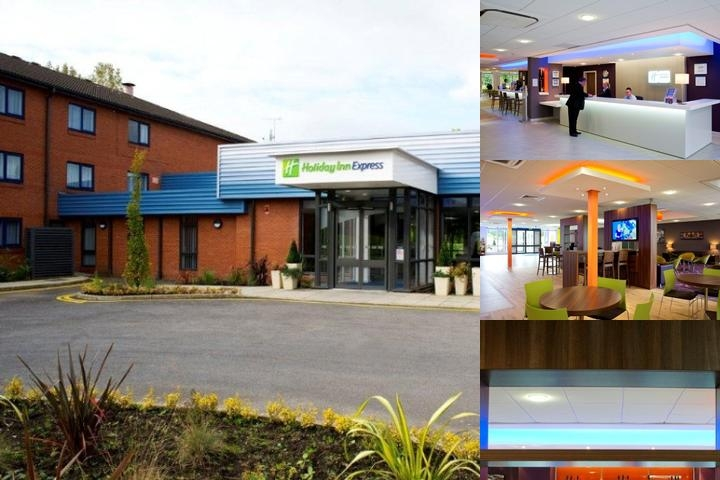 Holiday Inn Express Preston South photo collage
