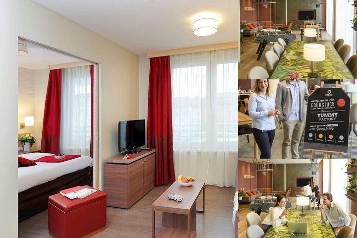 Aparthotel Adagio Muenchen City photo collage