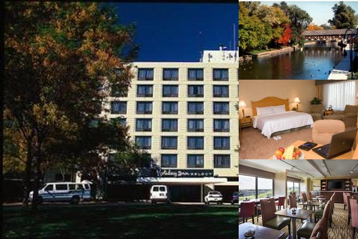 Chicago Marriott Naperville photo collage