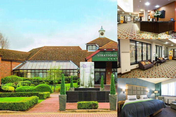 Stratford Manor photo collage