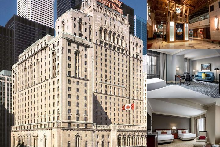 Fairmont Royal York photo collage