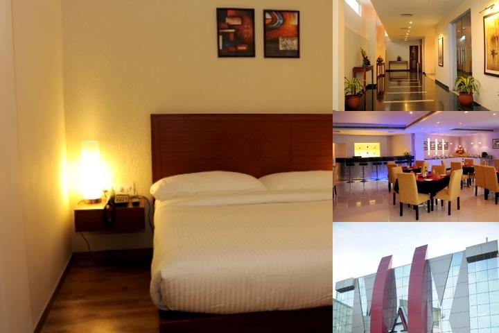 A Hotel photo collage
